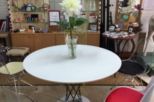 店内プチリニューアル!そして大輪の花